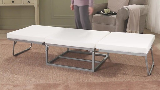 Stowaway folding bed - image 6 from the video