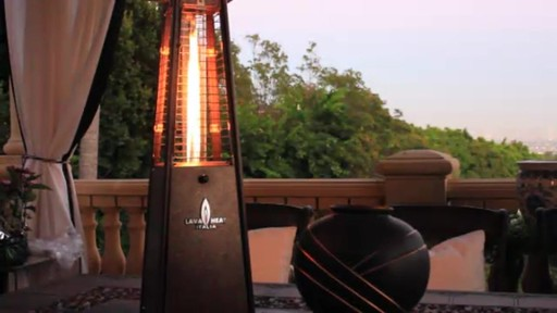 Lava Heat Mini Z2 Table Top Propane Patio Heater   Image 4 From The Video
