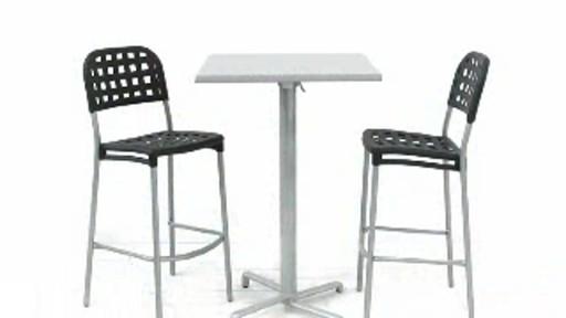 Table hauteur bar werzalit welcome to costco wholesale - Table hauteur modulable ...