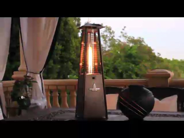 Lava Heat Mini Z2 Table Top Propane Patio Heater   Image 2 From The Video