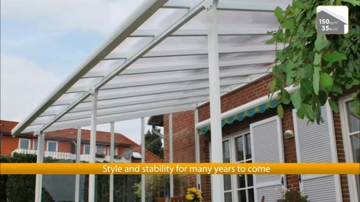 Palram Feria Patio Cover   Image 1 From The Video