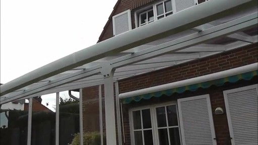 Palram Feria Patio Cover   Image 9 From The Video