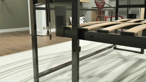 Allegra double landscape wall bed welcome to costco for Lit escamotable costco