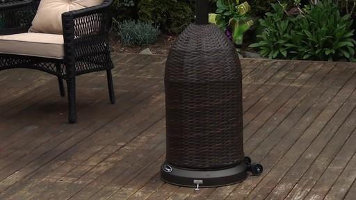 wicker propane patio heater j patio heaters