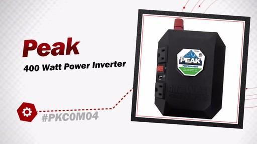 Peak 400 Watt Power Inverter PKC0M04 - image 3 from the video