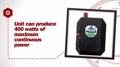 Peak 400 Watt Power Inverter PKC0M04 - image 6 from the video