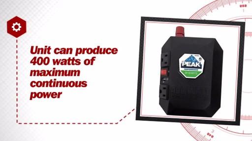 Peak 400 Watt Power Inverter PKC0M04 - image 7 from the video