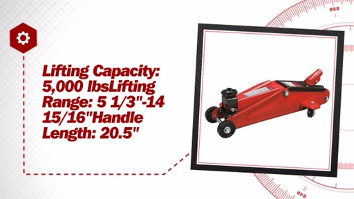 2.5 Ton Hydraulic Jack - image 7 from the video