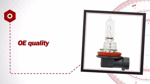 H9 Halogen Headlight Bulb, 1 Pack - image 6 from the video