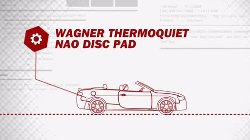 Wagner ThermoQuiet Ceramic Brake Pads - Front (4-Pad Set) QC707 - image 4 from the video