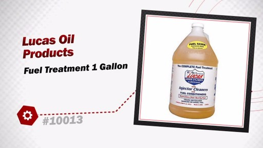 Lucas Oil Products Fuel Treatment 1 Gallon 10013 - image 3 from the video