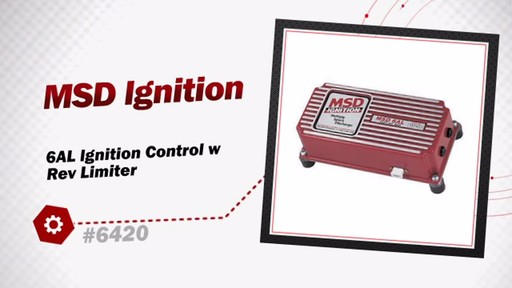 Msd Ignition 6al Ignition Control W Rev Limiter 6420  U00bb Advance Auto Parts Video