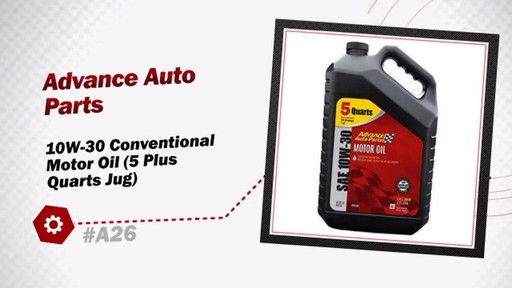 Advance Auto Parts 10W-30 Conventional Motor Oil (5 Plus Quarts Jug) A26 - image 3 from the video