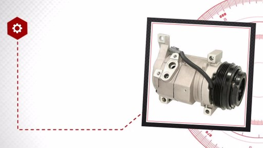 Air Conditioning Compressor with Clutch - New - image 5 from the video