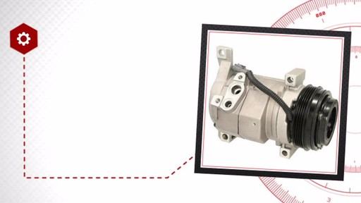 Air Conditioning Compressor with Clutch - New - image 6 from the video