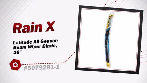 RainX Latitude All-Season Beam Wiper Blade, 26