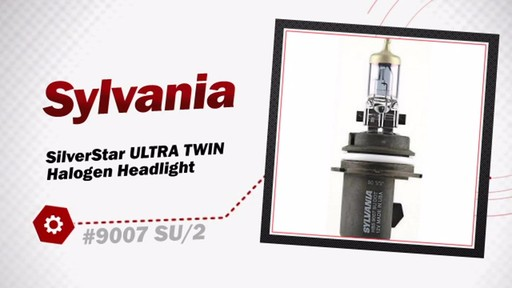 Sylvania SilverStar ULTRA TWIN Halogen Headlight 9007 SU/2 - image 3 from the video