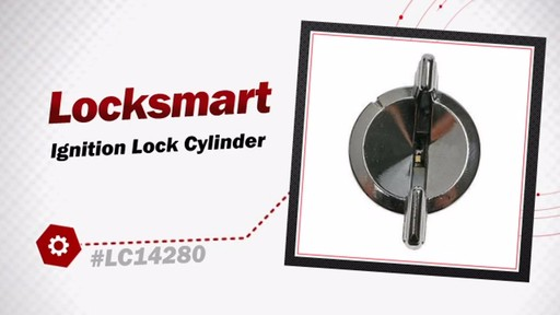Locksmart Ignition Lock Cylinder LC14280 - image 3 from the video