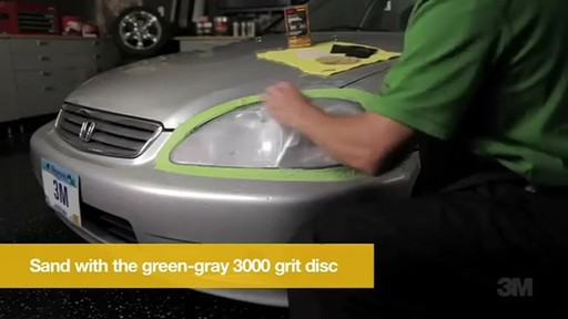 Griot's Garage How To Restore Headlights with the 3M Headlight Restoration No Tools Required 11269 - image 8 from the video