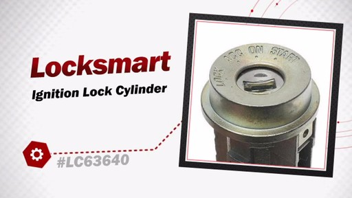 Locksmart Ignition Lock Cylinder LC63640 - image 3 from the video