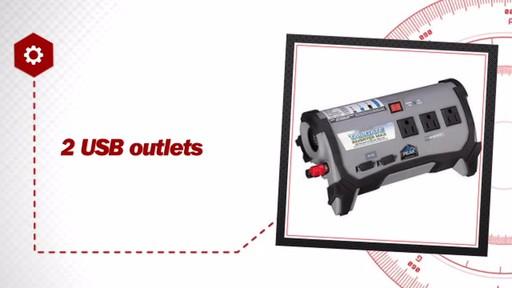 Peak 400 Watt Tailgate Inverter Max PKC0BO - image 6 from the video