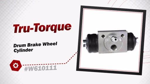 Tru-Torque Drum Brake Wheel Cylinder W610111 - image 3 from the video