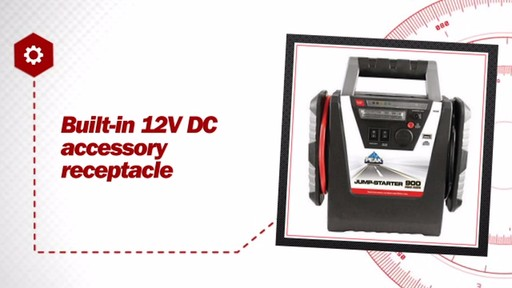 900 Amp Peak Jumpstarter - image 6 from the video
