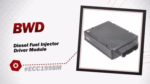 BWD Diesel Fuel Injector Driver Module ECC1998M - image 3 from the video
