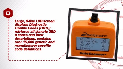 Auto Scanner OBD II Code Reader - image 6 from the video