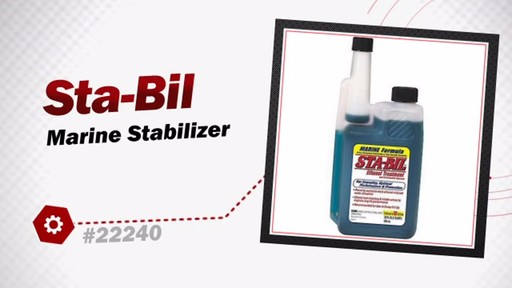 Sta-Bil Marine Stabilizer 22240 - image 3 from the video