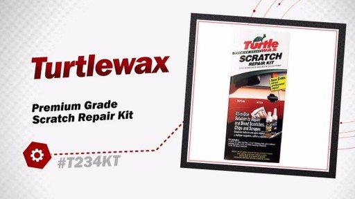 Turtlewax Premium Grade Scratch Repair Kit T234KT - image 3 from the video