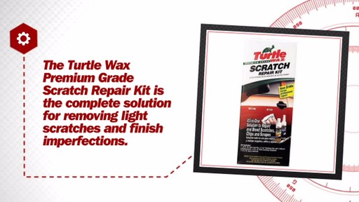 Turtlewax Premium Grade Scratch Repair Kit T234KT - image 6 from the video