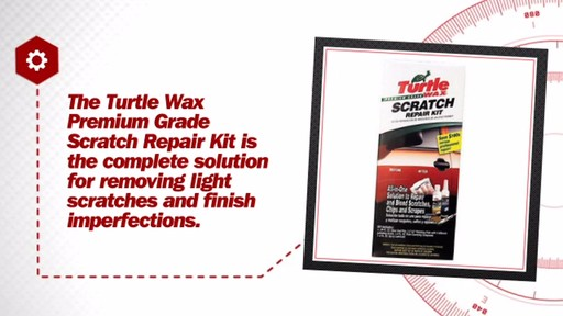 Turtlewax Premium Grade Scratch Repair Kit T234KT - image 7 from the video