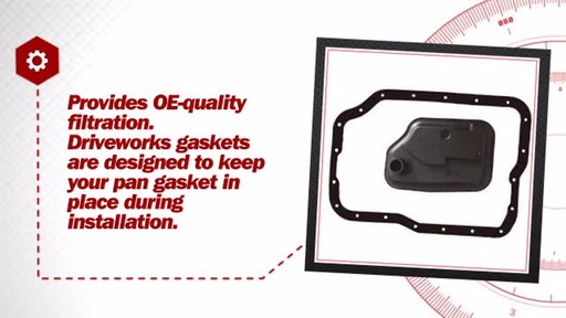 Automatic Transmission Filter Kit - image 6 from the video