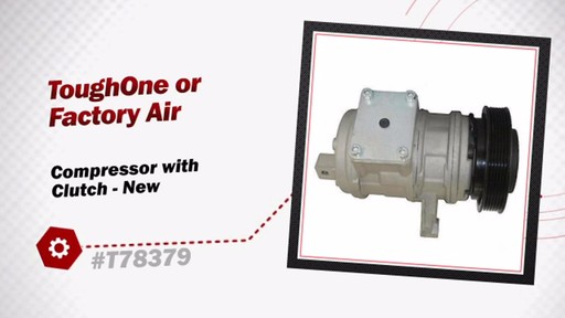 Compressor with Clutch - New - image 3 from the video