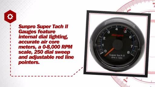 Sunpro Super Tach Ii 2 5  8 U0026quot