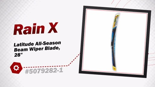 RainX Latitude All-Season Beam Wiper Blade, 28