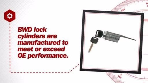Locksmart Ignition Lock Cylinder LC63040 - image 6 from the video