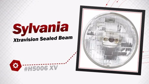 XtraVision H5006 XV Sealed Beam Headlight, 1 Pack - image 3 from the video
