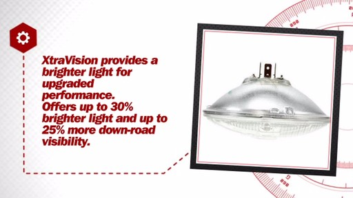 XtraVision H5006 XV Sealed Beam Headlight, 1 Pack - image 6 from the video