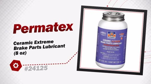 Permatex Ceramic Extreme Brake Parts Lubricant (8 oz) 24125 - image 3 from the video