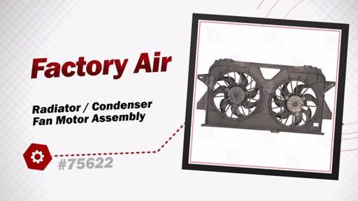 Radiator Condenser Fan Motor Condenser Fan Motor