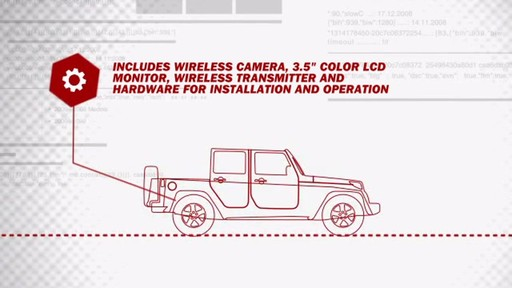 Peak 3.5-Inch Wireless Backup Camera System PKC0RB - image 4 from the video