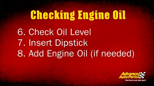 Castrol Checking engine oil 03096/03569 - image 10 from the video
