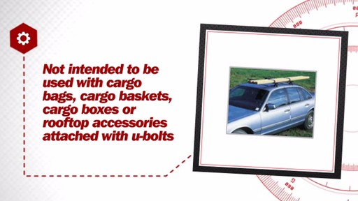 Highland Multi-Purpose Roof Top Bar Carrier 2005200 - image 6 from the video