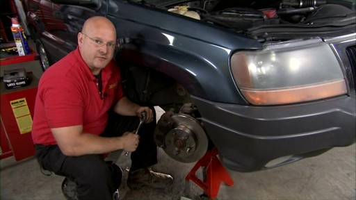 Replacing disc brakes - image 10 from the video