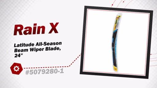 RainX Latitude All-Season Beam Wiper Blade, 24