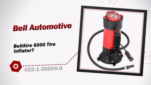 BellAire 6000 Tire Inflator - image 3 from the video