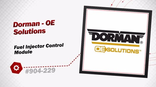 Dorman - OE Solutions Fuel Injection Control Module 904-229 - image 3 from the video