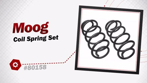 Moog Coil Spring Set 80158 - image 3 from the video